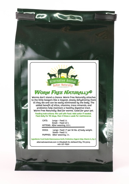 Worm Free Naturally natural dog wormer